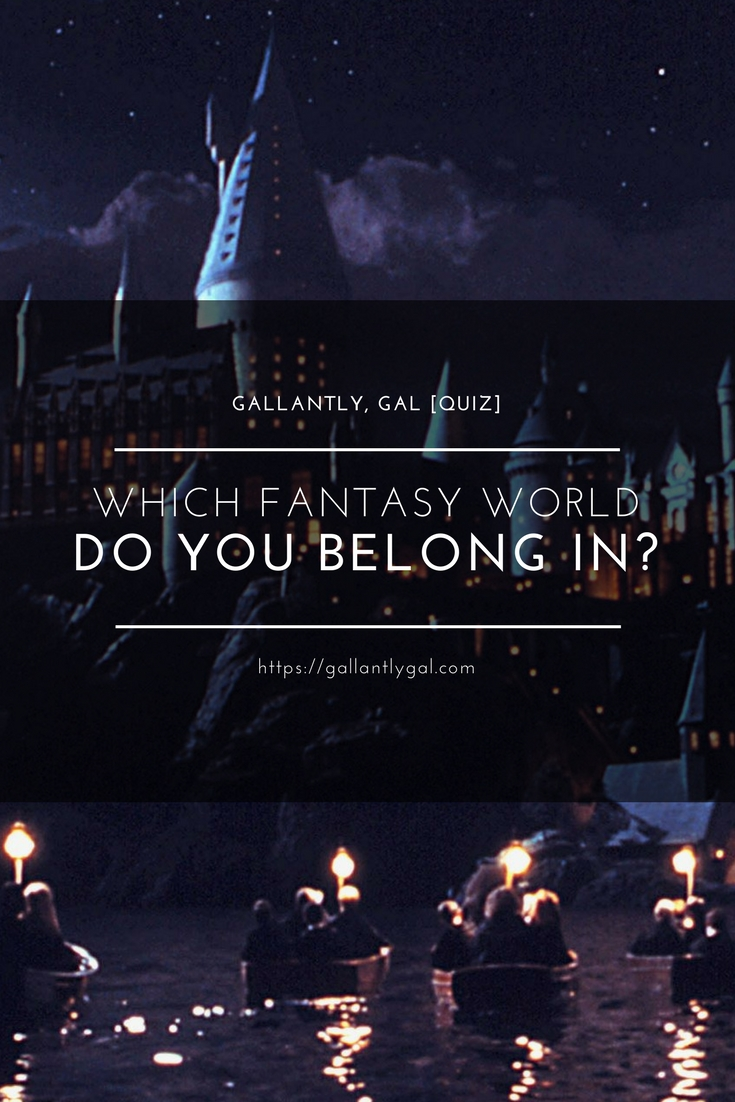 [Quiz] Which fantasy world do you belong in?
