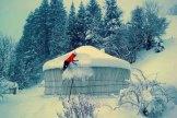 galleli jurte im winter