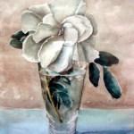gardenia i glasvase