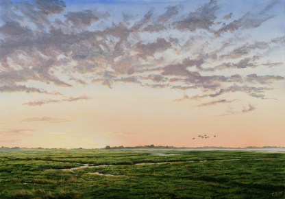 Gryning, Baie de Somme