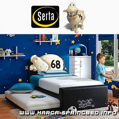 matras spring bed Serta Junior