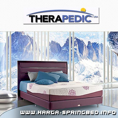 matras spring bed Therapedic Mont blanc