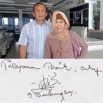 testimoni galleria furniture - Bapak Bambang