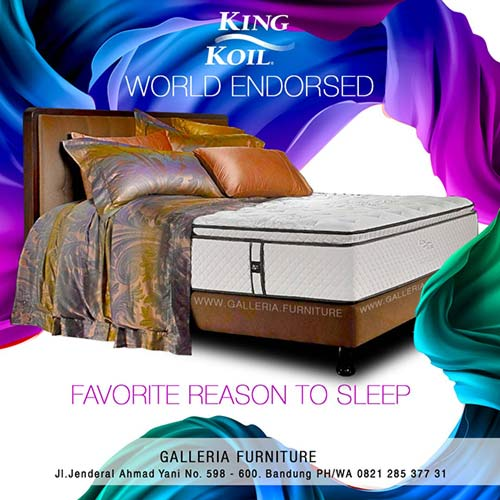 Harga Kasur King Koil World Endorsed