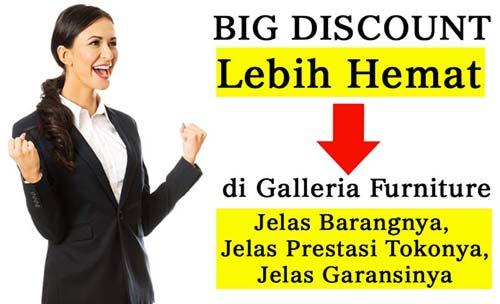 Harga Diskon Galeria Furniture Bandung