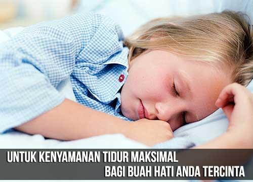 Kualitas Tidur Terbaik Anak Anda