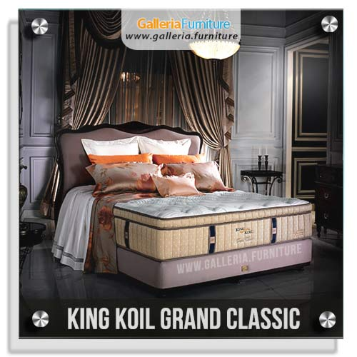 Harga Spring Bed King Koil Grand Classic