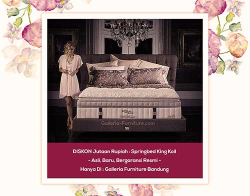 Springbed King Koil Grand Classic