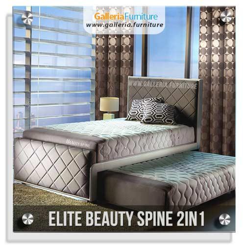 Spring Bed Elite 2in Beauty Spine