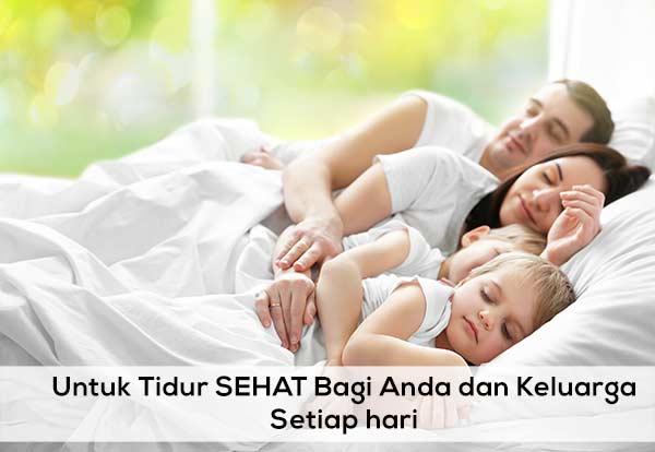 Tidur Sehat Keluarga Sehat