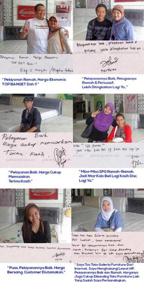 Testimoni Toko Kasur Bandung