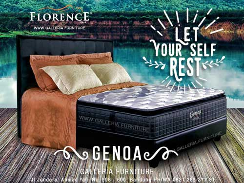 Harga Spring Bed Florence Genoa