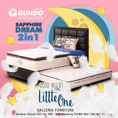 Harga Spring Bed Guhdo Sapphire Dream 2in1