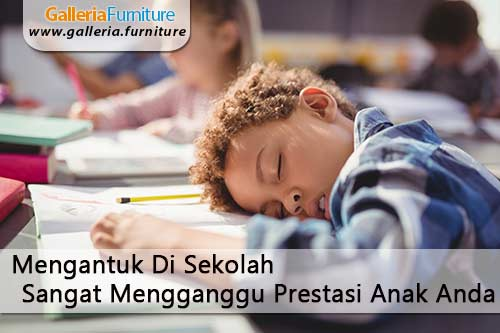 Solusi Anak Mengantuk di Sekolah