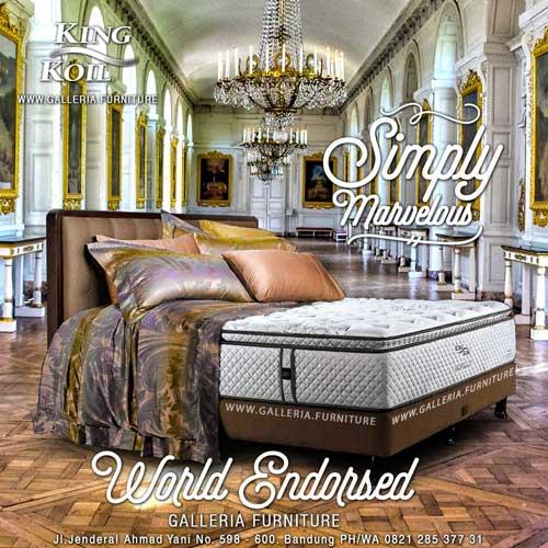 Harga Spring Bed King Koil World Endorsed Bandung