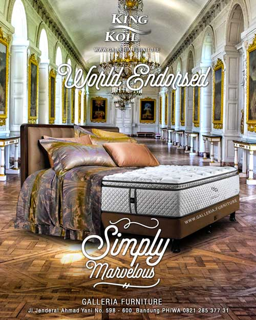 Review Spring Bed King Koil World Endorsed