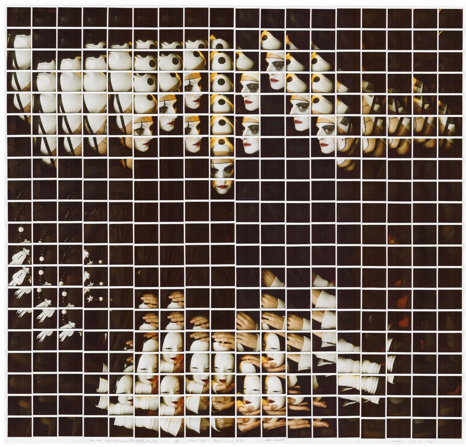 Maurizio Galimberti, mosaico polaroid