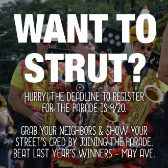 strut-parade-deadline