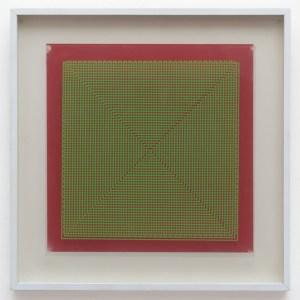 Alberto Biasi, Dinamica visiva A1, 1970