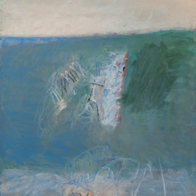 Giuseppe Guarino, Estuario, 1975, Olio su tela, 90x70cm