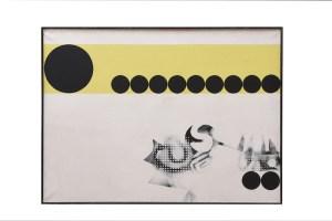 Jack Clemente, Senza titolo, 1965, cm 97x130