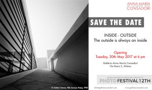 "SAVE THE DATE | ""INSIDE - OUTSIDE. The outside is always an inside""