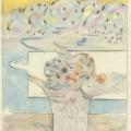 Tullio Pericoli, Combinazione (Cod. 6160), 2003, cm 48x33, matita su carta