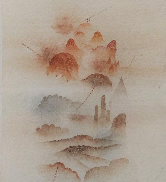 Tullio Pericoli, Senza titolo (Cod. 421a), 1978, cm 20x28,5, matita e acquerello su carta