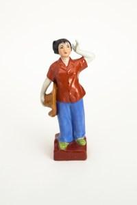 Studentessa contadina, anni 60, Ceramica, cm 30x8x8