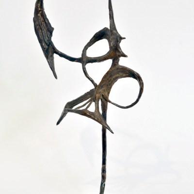 Carmelo Cappello, Ibis, 1958, cm h 36, bronzo