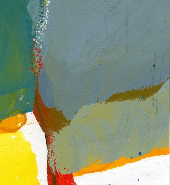 Giancarlo Consonni - Luce - tempera su carta  cm9,5x12   1991
