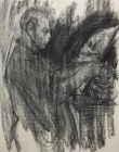 Vaccari, Lo specchio di Kubin, 100×70, matita (mina)