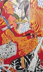 Cannavacciuolo, 100×100 cm, olio su tela