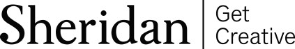 sheridan wordmark & tagline - black