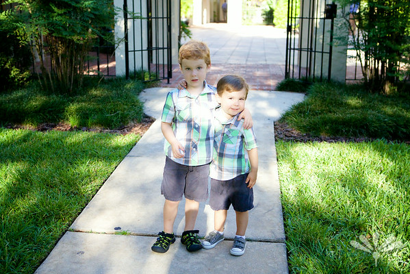 brothers at school