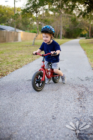 Jay on his bike