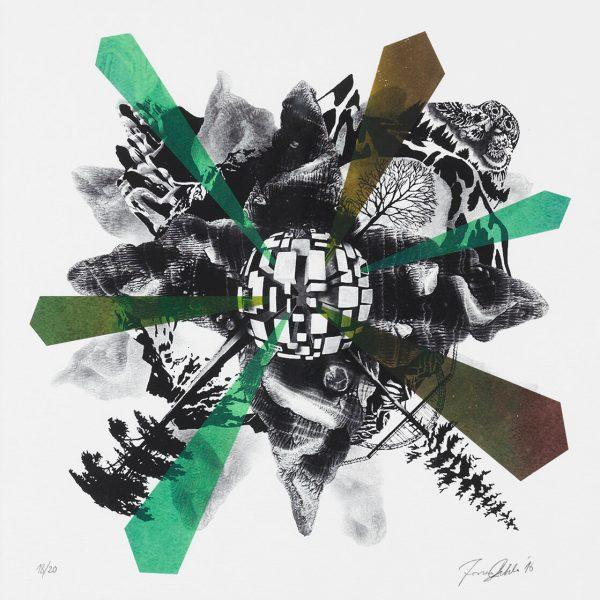 Jonas Pihl - Bjerget af Glas 2016 - 35x35