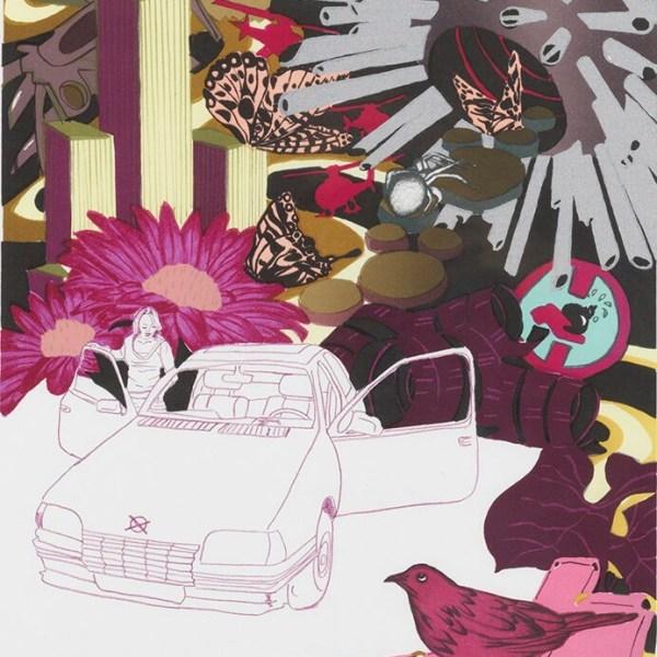 Trine Boesen - Butterfly Effect II - 56x38
