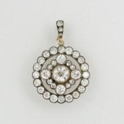 Diamond Pendant-Brooch