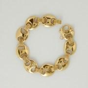 """""""Suroît"""" Gold Bracelet Hermès Paris"""