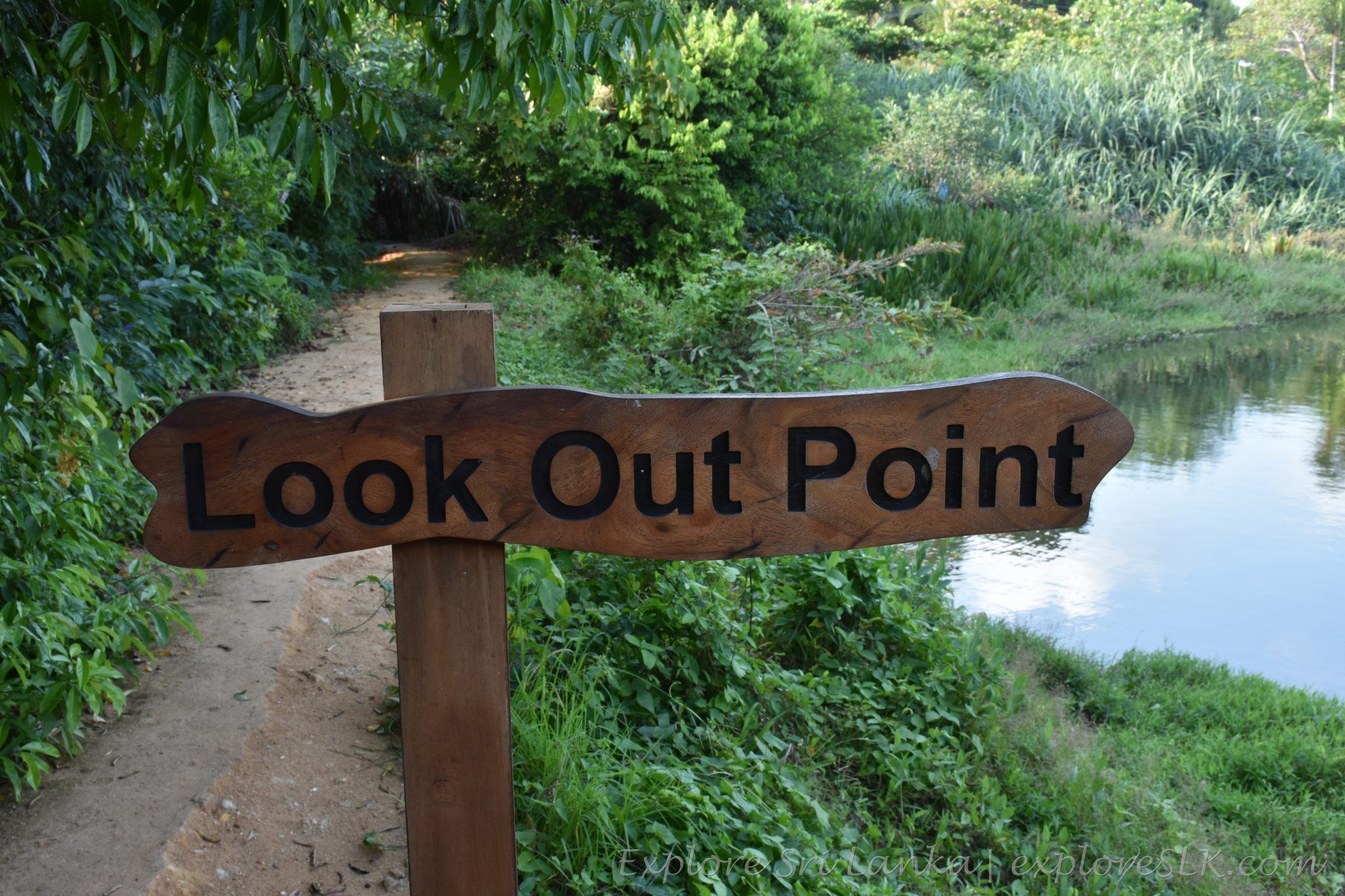 look out point - sign board