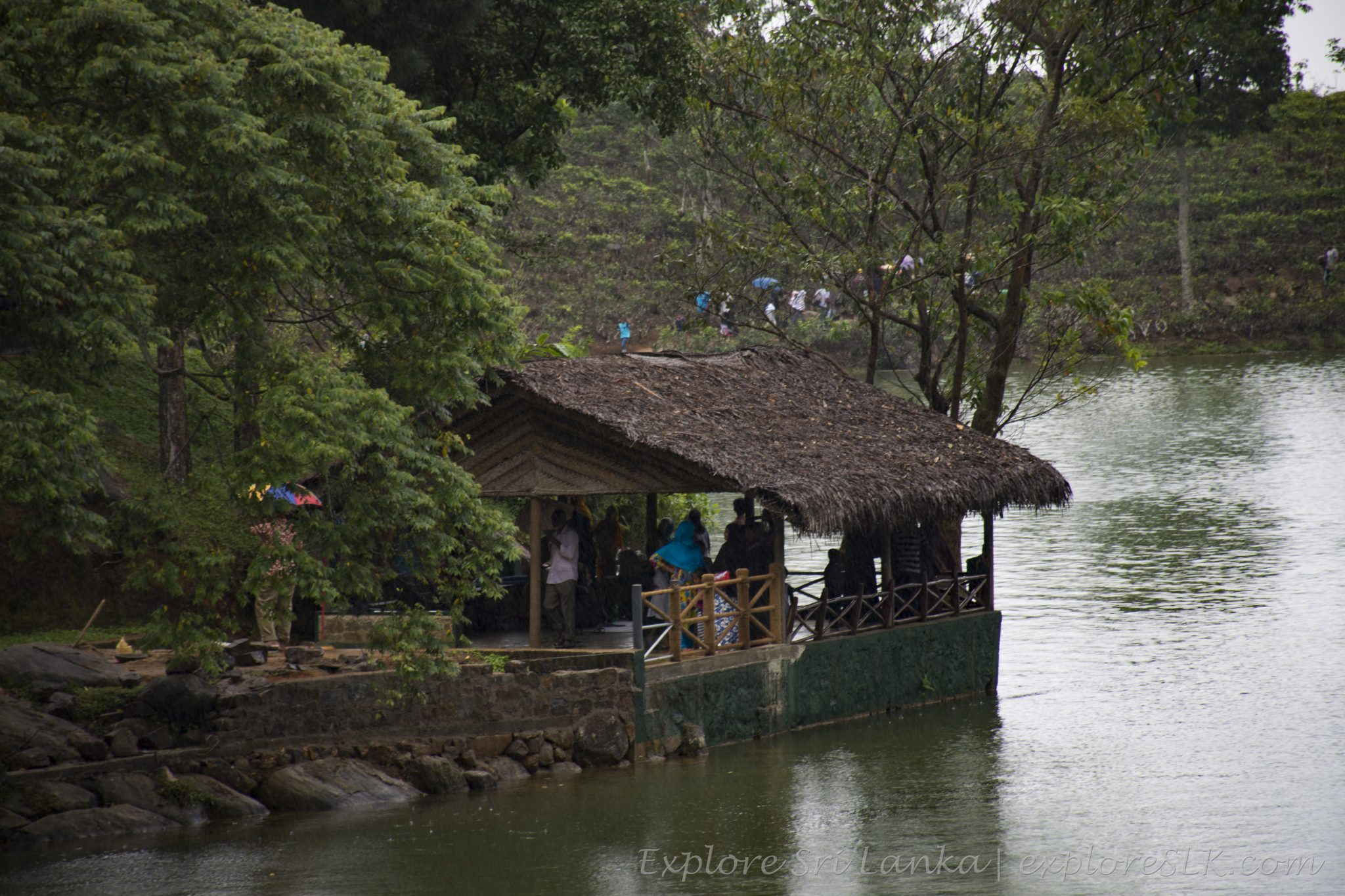 Huts at Lake