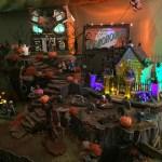 Halloween Spooky Town Village Display Hot Wire Foam Factory