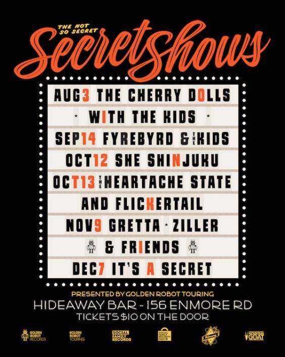 Secret Show Poster