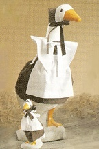 Stuffed Goose Company Pilgrim