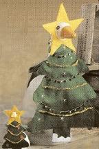 Stuffed Goose Christmas Tree