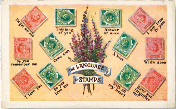 The secret language of stamps