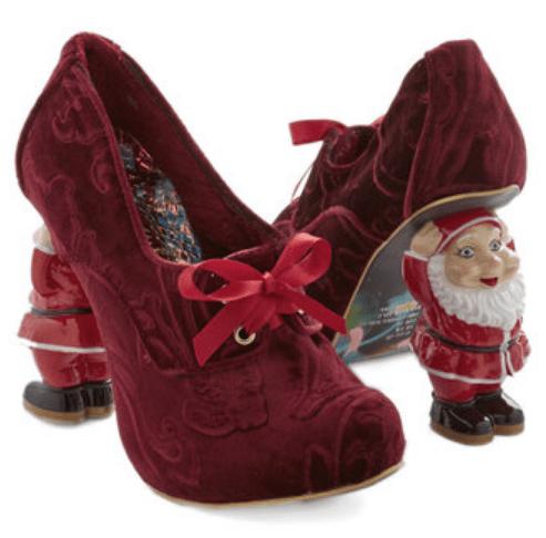 Heel Comes Santa Claus shoes by Irregular Choice