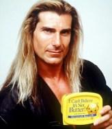 Fabio can't believe it's not butter