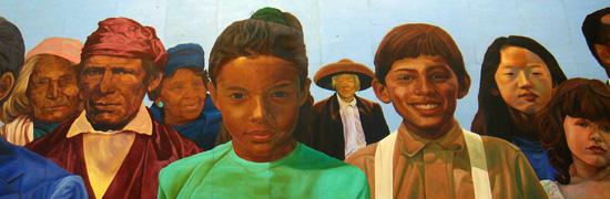 Richard Wyatt mural, Los Angeles Union Station